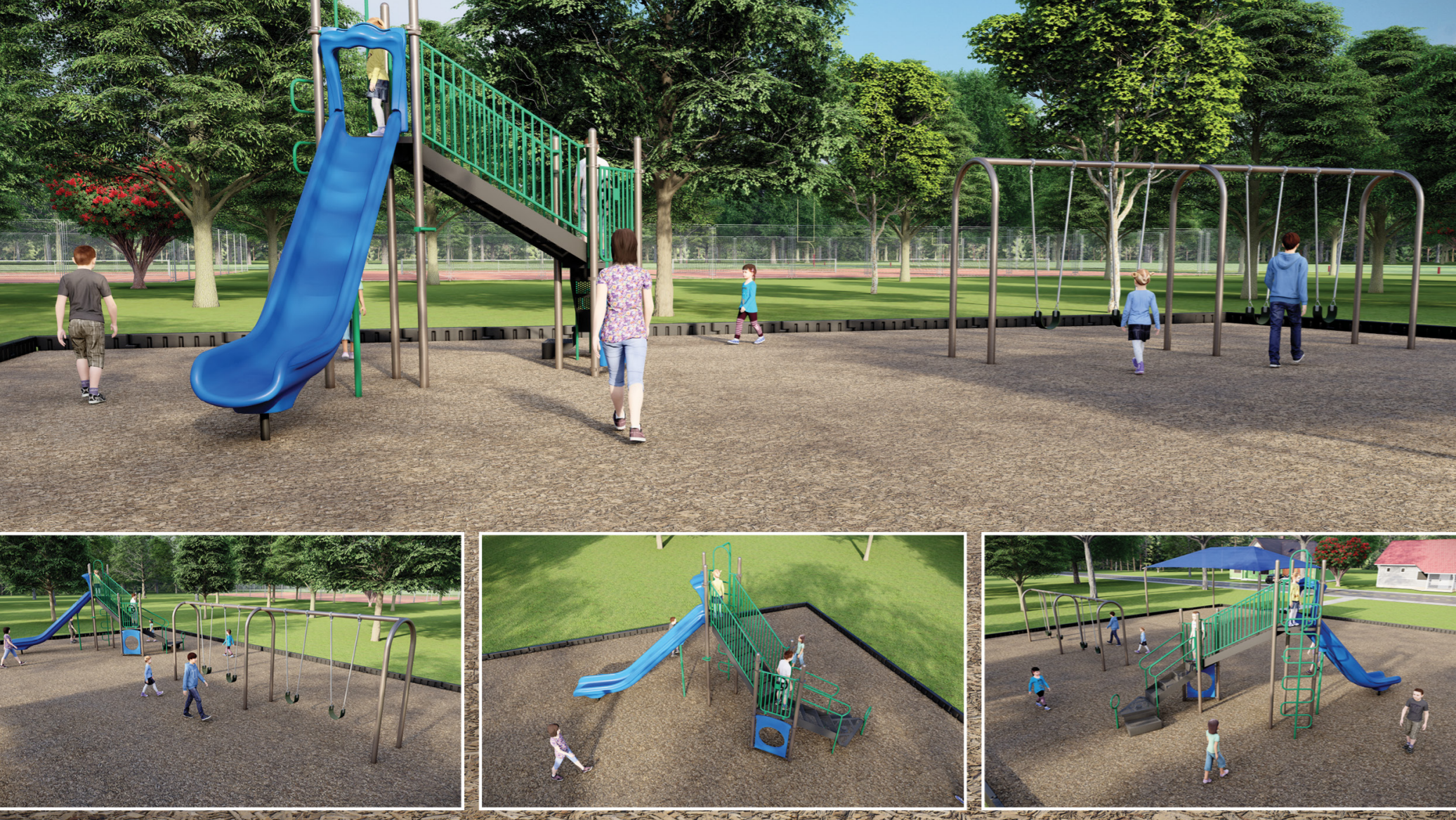 """Featured image for """"Richard Fleming Playground Rendering"""""""